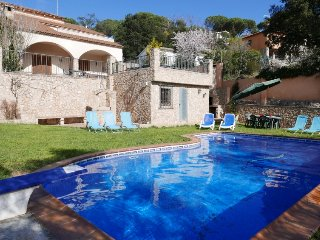 5 bedroom Villa in Tordera, Costa Brava, Spain : ref 2396009
