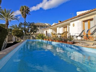 4 bedroom Villa in Can Picafort, Balearic Islands, Spain : ref 5311279