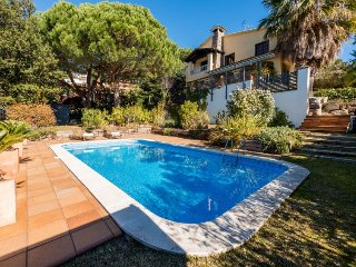 4 bedroom Villa in Cabrils, Barcelona Costa Norte, Spain : ref 2395409