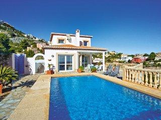 3 bedroom Villa in Moraira, Valencia, Spain : ref 5310946