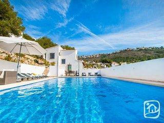 4 bedroom Villa in Moraira, Alicante, Costa Blanca, Spain : ref 2395211