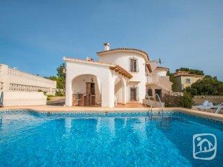 3 bedroom Villa in Calpe, Alicante, Costa Blanca, Spain : ref 2395207