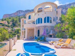 4 bedroom Villa in Calpe, Valencia, Spain : ref 5047221