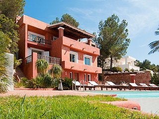7 bedroom, Luxury villas with best sunset of Ibiza, Port de San Miguel