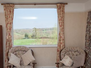 View of the countryside from Double Bedroom