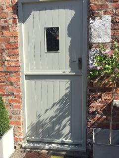 The Stable's front door.