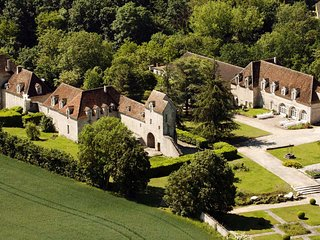 The Château de Montramé is a beautiful fortified castle of the 11th century., Provins
