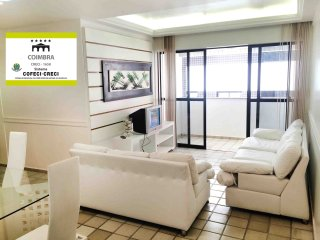 Apartamento NOVO e completo, 3 quartos + 3 wc! Super espacoso, perto de tudo