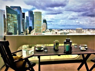 Paris la Defense - 2 pieces 52m2 grand balcon