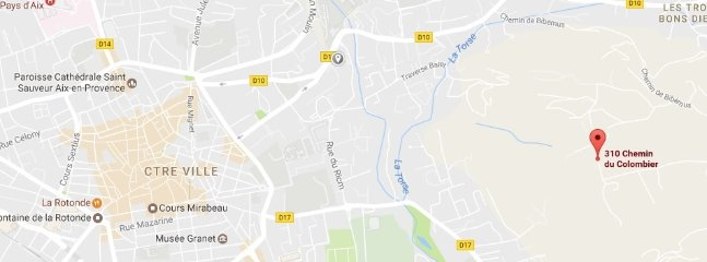 home location: 310 chemin du colombier