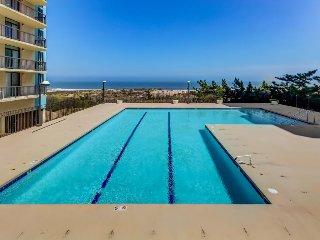 Oceanfront getaway w/  shared pool & tennis courts (fee applies), beach access