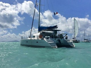 s/v Timaiao, Catamaran Lagoon 380 with 3 double double cabin, for 6 guests max., Charlotte Amalie