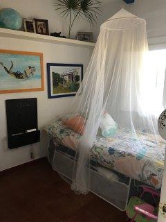 Tercer dormitorio con cama nido