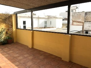 Top floor apartment with view over oldtown Tarifa