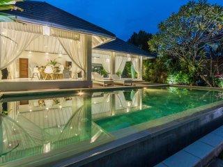 Modern  Villa 3 Bedroom with paddy's view 5 away to Berawa Beach