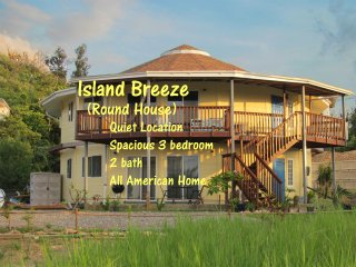 Island Breeze is a spacious, quiet, American style family vacation rental.