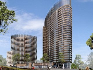 Luxury 2 Bed 2 Bath CITY VIEW APT + FREE Car Space in Sydney Olympic Park
