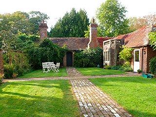 Le jardin privé colonnade.
