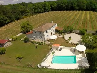 Chez Sibert charming villa with private heated pool sleeps 8 + 2