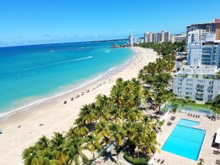 Beachfront ~ Fully Remodeled ~ Marbella Del Caribe ~ Best Location of San Juan