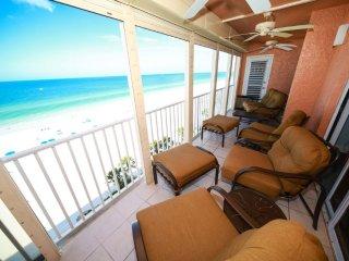 Sand Castle II Beachfront Premium Condo # 805