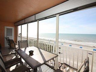 Sand Castle II Beachfront Premium Condo # 504