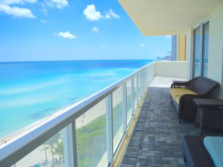 WOW! DIRECT OCEAN FRONT CORNER UNIT! AMAZING VIEWS! LARGE TERRACE, SPACIOUS UNIT