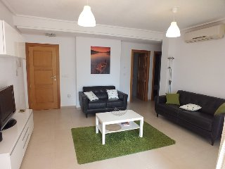 La Torre Golf, ground floor apartment with pool access, WiFi, golf nearby.