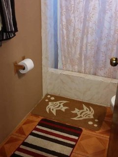 One of the main floor bathrooms.