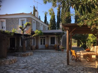 Elegant stone house in Argolis