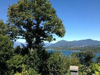 panoramico monolocale open space sul lago e alpi