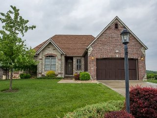 A Blissful Retreat in this 5 bd, 3 bath Home located at Branson Creek!