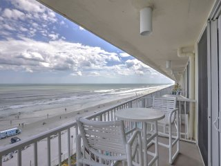 Oceanfront Daytona Beach Condo w/ Private Balcony!