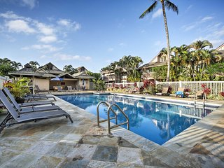 New! Princeville Studio w/ Reserved Parking, W/D, & Pool Access!