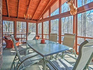 NEW! Tranquil Ossipee Lake Home w/ Wooded Views!
