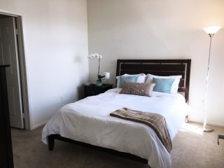 Bright & Beautiful Master Bedroom & Private Bathroom in Condo / Shared Space