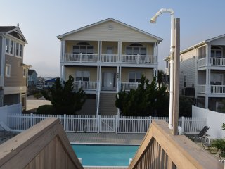 Oceanfront with pool near pier! This 4 bedroom, 3.5 bathroom house has it all!