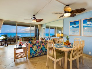 Oceanfront Paradise! Awesome Views! Ground floor! A/C Throughout!