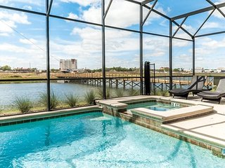 4765KCC. Superb 5 Bedroom 5 Bath Pool Home in Storey Lake Resort.