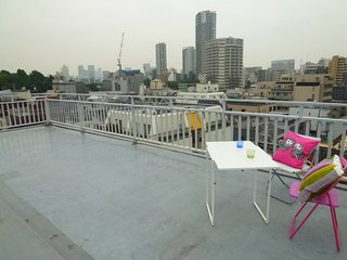 Rooftop View Spacious house(12min to Ueno Sta.&Zoo, Taito