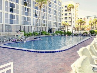 Plantation Island Resort Oceanfront/View 1bdrm, sleeps 4, July 14-21,$399/Week!, Ormond Beach