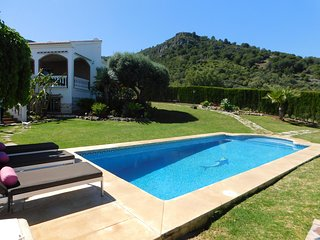 Villa deluxe con panorámicas sobre Málaga, la montaña y el mar