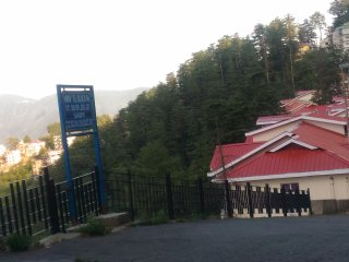 J.K. Villa in pine forest valley of Shimla