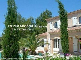 La Villa Monflour  en Provence a 5 minutes d'Avignon