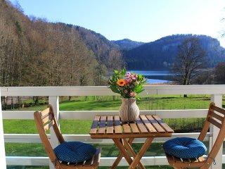 Appartement face au Lac de Bonlieu dans le Jura