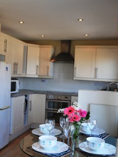 Fully size contemporary kitchen big enough for the most enthusiastic Nigella or Jamie