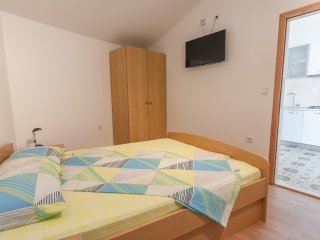 Apartments&Rooms Barišić-Superior Studio Apartment with Balcony and Garden View, Mlini
