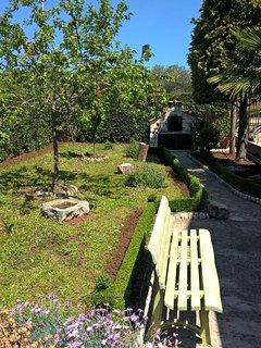 giardino della casa