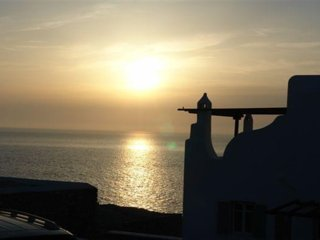 villa Del mar (sunset view,seafront view, 4 bedrooms, ensuite 4 bathrooms, pool), Mykonos-Stadt