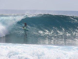Surf lodge, Asu Island, Northern Sumatra, Indonesia. Perfect waves-no crowd